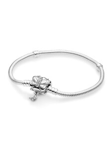 Armband  mit Schmetterling-Verschluss – Pandora Silberfarben