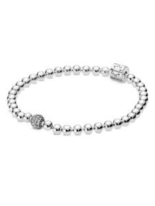 Armband mit Zirkonia Pandora Silberfarben