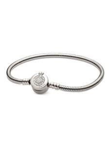 Armband Pandora – Funkelnde Krone – Pandora Silberfarben
