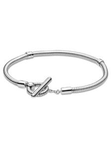 Armband mit T-Verschluss – Pandora Silberfarben