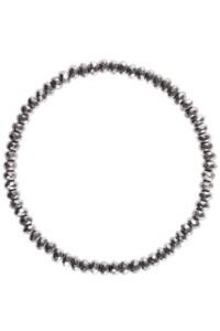 Armband Pyrit versilbert