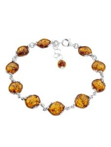 Armband – Sally – Silber 925/000 – Bernstein OSTSEE-SCHMUCK silber
