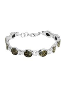 Armband – Tamina – Silber 925/000 – Bernstein OSTSEE-SCHMUCK silber