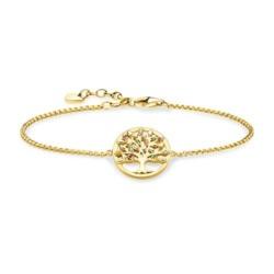 Armband Tree of Love aus vergoldetem 925er Silber