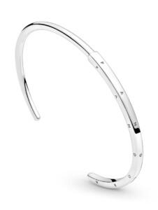 Armreif – Logo – Pandora Silberfarben