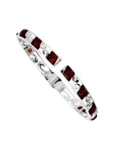 Armspange – Lonnie – Silber 925/000 – Bernstein OSTSEE-SCHMUCK silber
