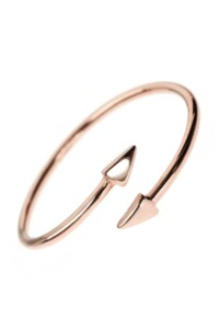 ARROWS Ring rosé vergoldet