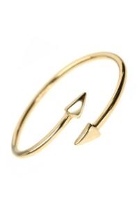 ARROWS Ring vergoldet