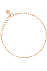 BALL CHAIN Armband rosé vergoldet
