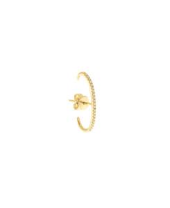 BAR Ohrstecker|Single 14K Gold