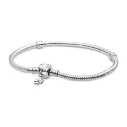 Basis Armband Gänseblümchen aus Sterlingsilber