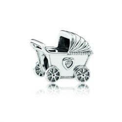 Bead Kinderwagen 925er Sterlingsilber