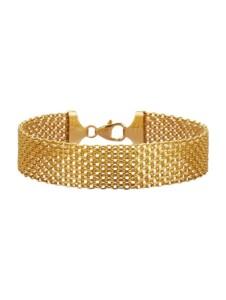 Bismarckarmband Diemer Gold Gelbgoldfarben