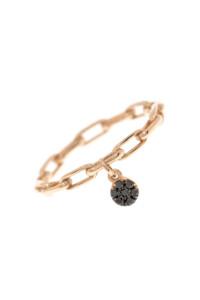 BLACK DIAMOND Ring Roségold