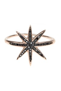 BLACK STAR Diamant Ring Roségold