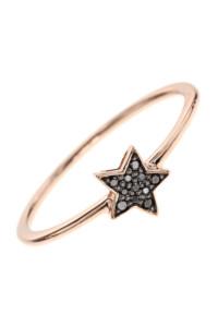 BLACK TWINKLE Stern Diamant Ring