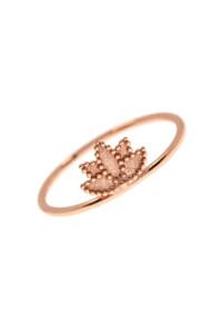 BLOSSOM Ring Rosé vergoldet