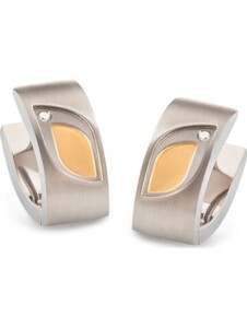 Boccia Damen-Creolen Titan 2 Diamant Boccia bicolor
