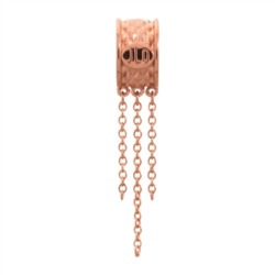 Bohemian Dangle Rose Gold 925er Silber