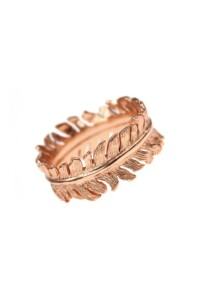 BOHO Ring rosé vergoldet