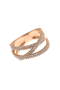 BOND Ring Roségold