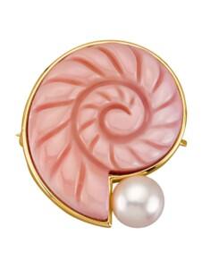 Brosche Diemer Perle Rosé