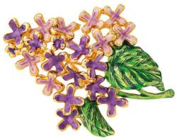 Brosche 'Lilac', Brosche, Schmuck