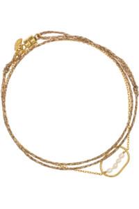 CÔTIER Armband gelb vergoldet