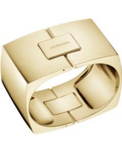 Calvin Klein Damen-Armreif Assertive Messing