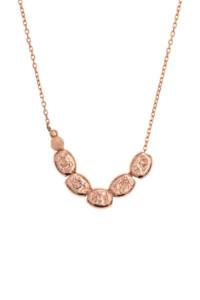 CAST Halskette rosé vergoldet