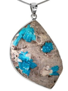 Cavansit Anhänger 925 Silber 1001 Diamonds blau