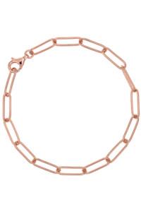 CHAIN LINK Armband rosé vergoldet