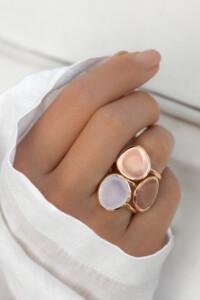 CHALZEDON Ring rosé vergoldet