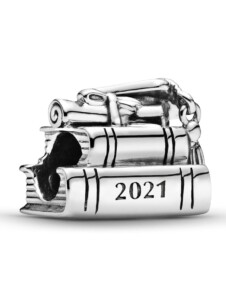 Charm -2021 Schulabschluss- Pandora Silberfarben