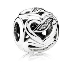 Charm 925er Silber mit Zirkonia