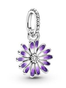 Charm-Anhänger -Gänseblume- Pandora Silberfarben