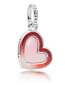 Charm-Anhänger -Herz der Liebe- Pandora Rot