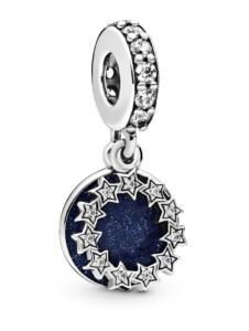Charm-Anhänger -Inspirierende Sterne- Pandora Silberfarben