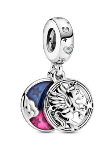 Charm-Anhänger -Magisches Einhorn- Pandora Silberfarben