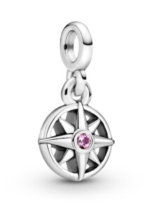 Charm-Anhänger – Mein Kompass – Pandora ME – Pandora Silberfarben