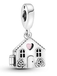 Charm-Anhänger -Perfektes Zuhause- Pandora Weiß