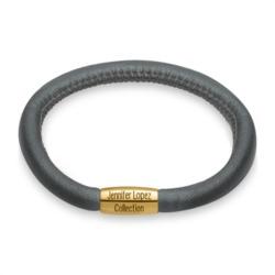 Charm-Armband anthrazit gold