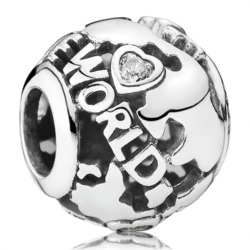 Charm Around The World 925er Silber