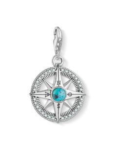 Charm aus 925 Sterling Silber mit Zirkonia