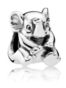 Charm -Baby Elefant- Pandora Weiß