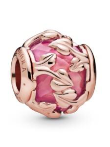Charm -Dekorative Blätter- Pandora Rosé