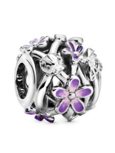 Charm -Durchbrochene Gänseblümchen- Pandora Silberfarben