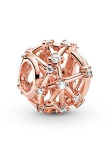 Charm -Durchbrochenes Sternenbild Pandora Rosé