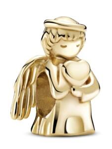 Charm -Engel der Liebe- 14K Gold Pandora Gelbgoldfarben
