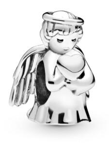 Charm -Engel der Liebe- Pandora Silberfarben